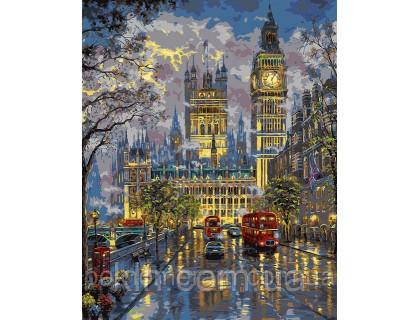 Купить Картина по номерам Идейка Волшебная ночь КН1151 40 х 50 см