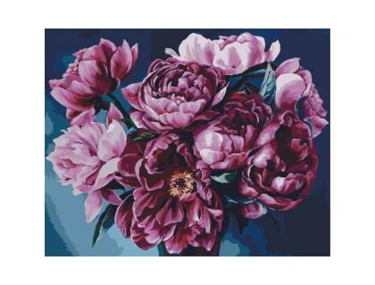 Купить Картина по номерам Букет пионов КН2082 40 х 50 см