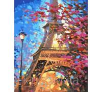 Картина по номерам Краски весеннего Парижа худ Афремов Леонид КН2129 40 х 50 см