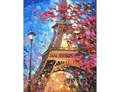Купить Картина по номерам Краски весеннего Парижа худ Афремов Леонид КН2129 40 х 50 см