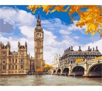 Картина по номерам КН2134 Осенние краски Лондона 40 х 50 см