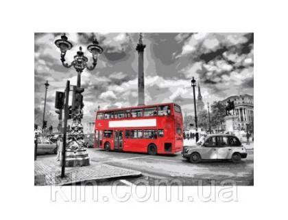 Купить Картина по номерам КН2146 Яркий автобус 40 х 50 см