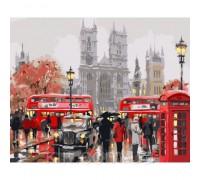 Картина по номерам Дождливое утро в Лондоне (КН2149) 40 х 50 см
