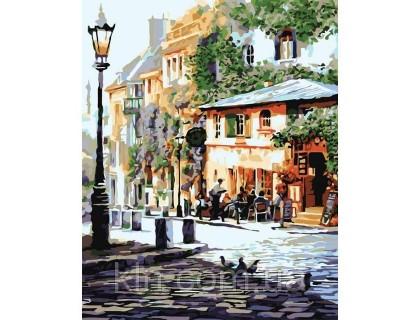 Купить Картина по номерам КН2150 Семейное кафе 40 х 50 см