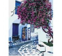 Картина по номерам КН2168 Улички Греции 40 х 50 см