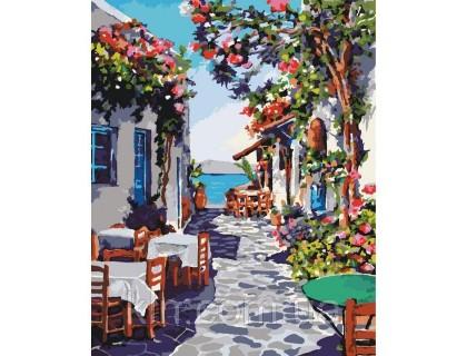 Купить Картина по номерам КН2169 Уютное местечко 40 х 50 см