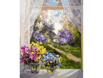 Купить Картина по номерам Идейка В гостях в деревне 40 х 50 см (арт. КН2231)
