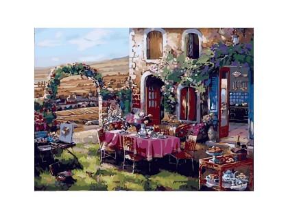 Купить Картина по номерам Семейный ужин КН2245 40 х 50 см
