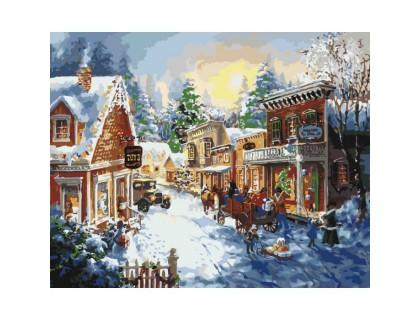 Купить Картина по номерам Идейка (КН2247)  В ожидании праздника 40 х 50 см