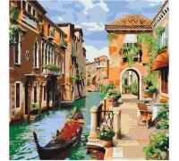 Картина по номерам без коробки Идейка Венецианское утро 40 х 40 см (арт. KHO2161)