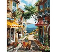 Картина по номерам без коробки Идейка столик на двоих 40 х 50 см (арт. KHO2197)