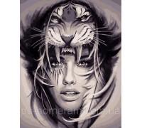 Картина по номерам ArtStory Амазонка  AS0085 40 х 50 см