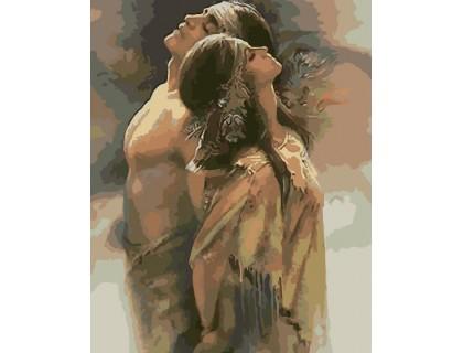 Купить Картина по номерам ArtStory Надежное плечо AS0048 40 х 50 см