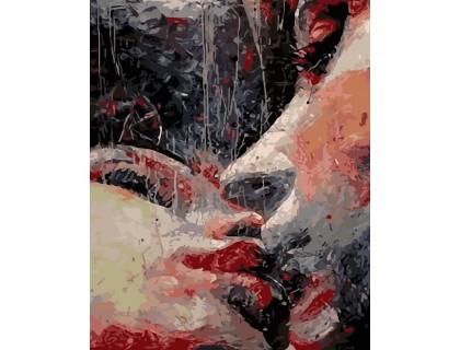 Купить Картина по номерам ArtStory Объятия влюбленных AS0188 40 х 50 см