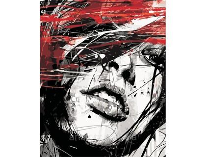 Купить Картина по номерам ArtStory Страстный взгляд AS0424 40 х 50 см