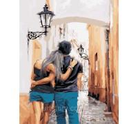 Картина по номерам ArtStory С любимым в городе 40 х 50 см AS0429