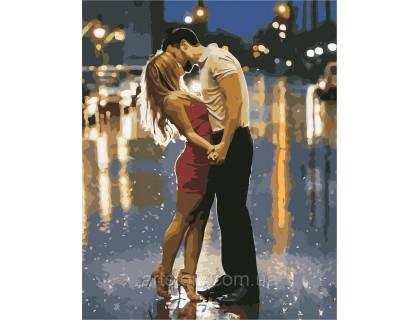 Купить Картина по номерам ArtStory Сладкий поцелуй AS0438 40 х 50 см