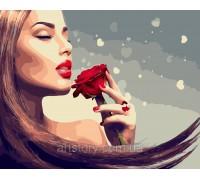 Картина по номерам ArtStory Аромат розы AS0449 40 х 50 см