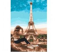 Картина по номерам Идейка Мой прекрасный Париж 35 х 50 см (арт. КН2693)