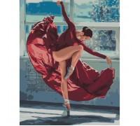 Картина по номерам Страстный танец девушки КН4512 40 х 50 см