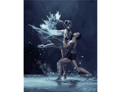 Купить Картина по номерам Идейка Жизнь в танце 40 х 50 см (арт. КН4513)