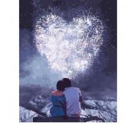 Картина по номерам Идейка Романтическое свидание 40 х 50 см (арт. КН4527)