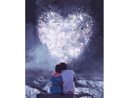 Купить Картина по номерам Идейка Романтическое свидание 40 х 50 см (арт. КН4527)
