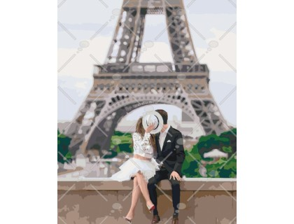 Купить Картина по номерам Идейка Город любви 40 х 50 см (арт. КН4531)