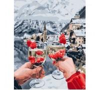 Картина по номерам Идейка Отдых в горах 40 х 50 см (арт. КН4538)