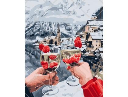 Купить Картина по номерам Идейка Отдых в горах 40 х 50 см (арт. КН4538)