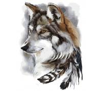 Картина по номерам ArtStory Волк AS0169 40 х 50 см