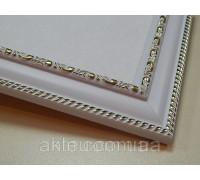 Рамка для картин 50*40 со стеклом, профиль 25 мм (код 2914-4050)
