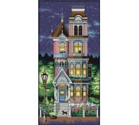 Вышивка крестиком набор Дом мечты 34х62 см (арт. MK014)