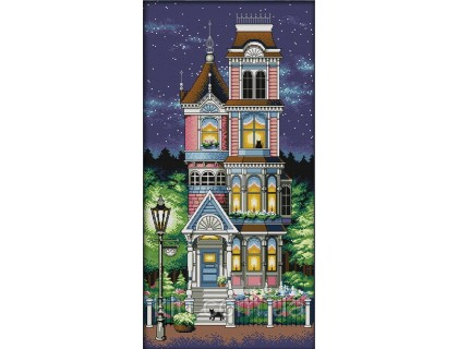 Купить Вышивка крестиком набор Дом мечты 34х62 см (арт. MK014)