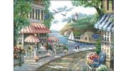Городской и пейзаж в вышивке крестиком