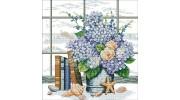Цветы, букеты, натюрморты в вышивке крестиком